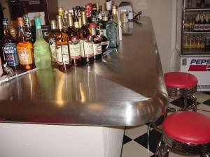 ステンレス製カウンターテーブル